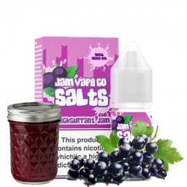 10ml Blackcurrant Jam Jam Vape Co Salt e-liquid