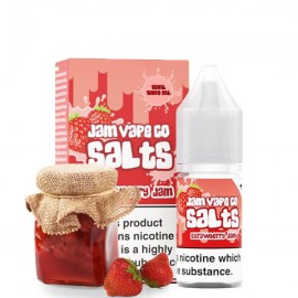 10ml Strawberry Jam Jam Vape Co Salt e-liquid
