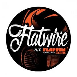 Flatwire Flapton SS316L 24/32GA odporový drôt 3m