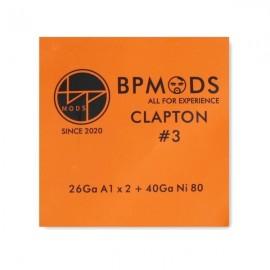 BP Mods Clapton 3 A1/Ni80 26/40GA odporový drôt 3m