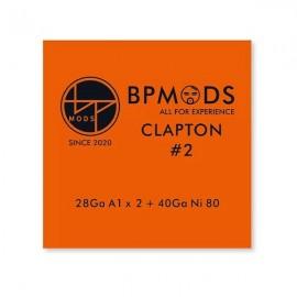 BP Mods Clapton 2 A1/Ni80 28/40GA odporový drôt 3m