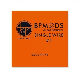 BP Mods Single Wire1Ni70 26GA odporový drôt 5m