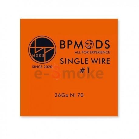 BP Mods Single Wire1Ni70 26GA odporový drôt 5m