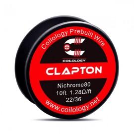 Coilology Clapton Ni80 22/36GA odporový drôt (3m)