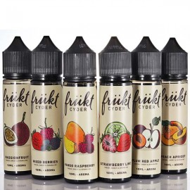 6x60ml Frukt Cyder Bundle - 6x10ml S&V