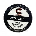 10ks Coilology MTL Coil KA1 špirálky