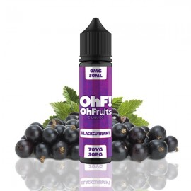 60ml Blackcurrant OhF! - 50ml S&V