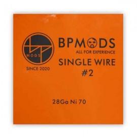 BP Mods Single Wire2 Ni70 26GA odporový drôt 5m