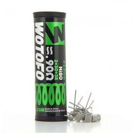 5ks Wotofo Alien Ni80 0,50Ω špirálky