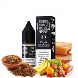 10ml No.33 Light Tobacco Bastards Salt e-liquid