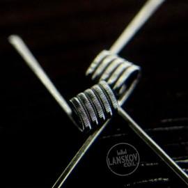 2ks LANSKOV Duo Fused Ni80 špirálky 0,7Ω
