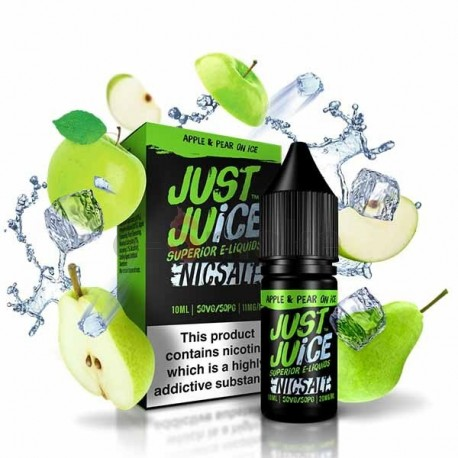 10ml Apple&Pear On Ice Just Juice Salt e-liquid