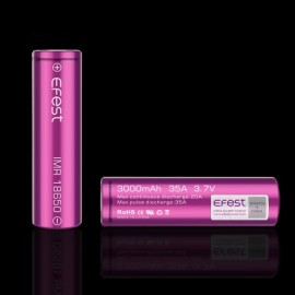 batéria Efest IMR 3000 mAh, 35 A