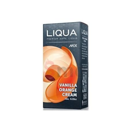 Vanilkovo pomarančový krém Liqua Mix 10 ml e-liquid