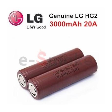 batéria LG HG2 3000 mAh, 20 A
