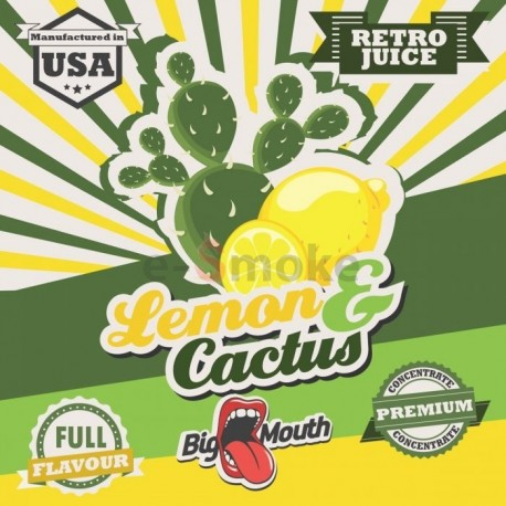 10 ml Lemon and Cactus Big Mouth aróma