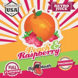 10 ml Peach and Raspberry Big Mouth aróma