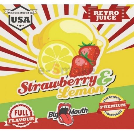 10 ml Strawberry and Lemon Big Mouth aróma