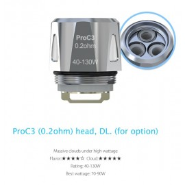 Joyetech ProC3 žhaviaca hlava 0,2 Ohm