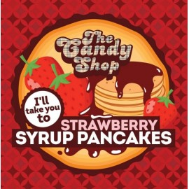 10 ml Strawberry Syrup Pancakes Big Mouth aróma