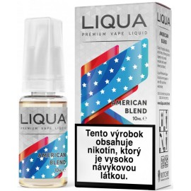 30 ml Americký tabak Liqua Elements e-liquid 0mg