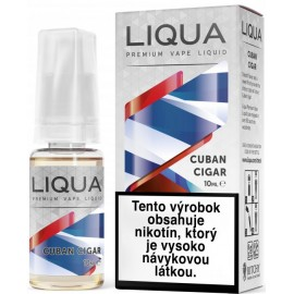 30 ml Kubánska cigara Liqua Elements e-liquid 0mg