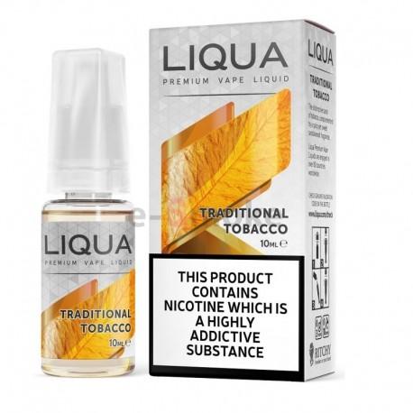 30 ml Tradičný tabak Liqua Elements e-liquid 0mg