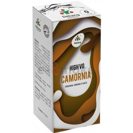 Dekang 10ml High VG Camornia