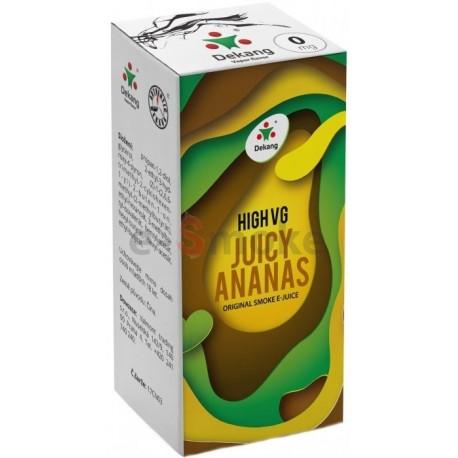 Dekang 10ml High VG Juicy Ananas