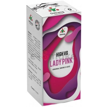 Dekang 10ml High VG Lady Pink