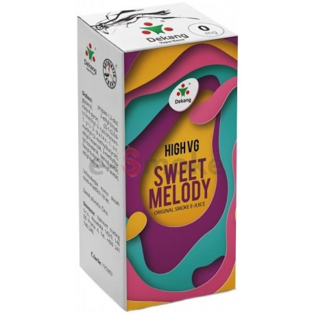 Dekang 10ml High VG Sweet Melody