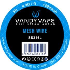 Vandy Vape 150 Mesh SS316L klbko 1,5m