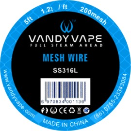 Vandy Vape Mesh SS316L klbko 1,5m