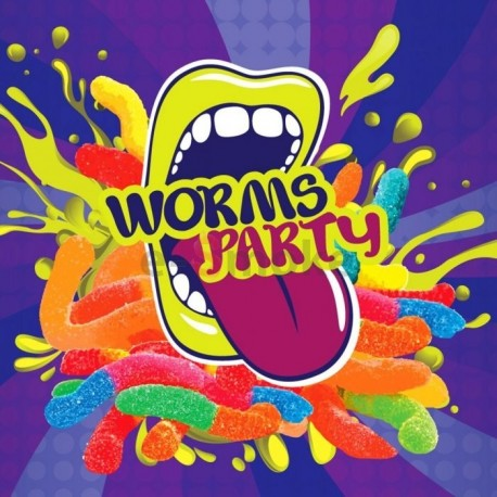 10 ml Worms Party Big Mouth aróma