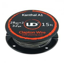 UD SS316L Clapton odporový drôt (2x28GA + 32GA)