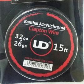 UD KA1+Nichrome Clapton odporový drôt (32GA + 26GA)