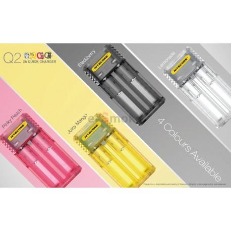 Nitecore Q2 nabíjačka na dve batérie