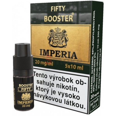 5x10 ml Imperia PG50 / VG50 (20mg/ml) Booster