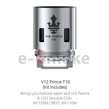 SMOK TFV12 Prince - T10 žhaviaca hlava