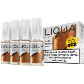 4-Pack Silný tabak LIQUA ELEMENTS E-LIQUID