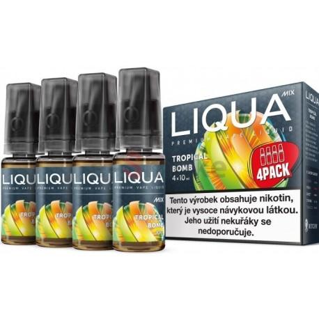 4-Pack Tropická bomba LIQUA Elements E-Liquid