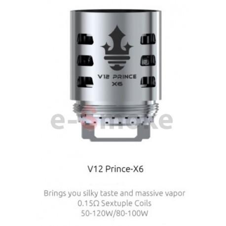 SMOK TFV12 Prince - X6 žhaviaca hlava