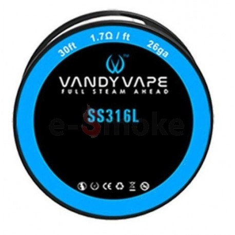 Vandy Vape SS316L 26GA 9m