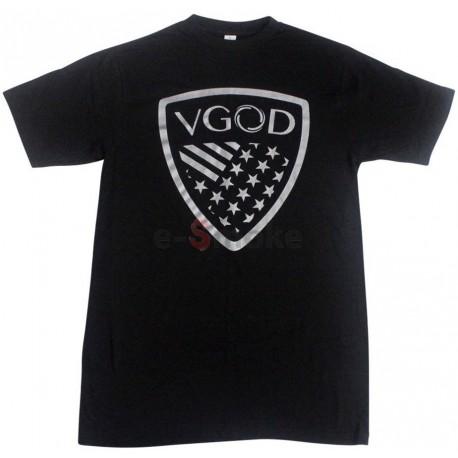 VGOD tričko čierne / strieborná grafika