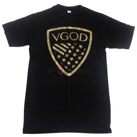 VGOD tričko čierne / zlatá grafika
