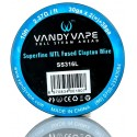 Vandy Vape SS316L Superfine MTL Fused Clapton_30ga