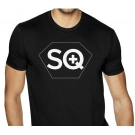 SQuape tričko čierne