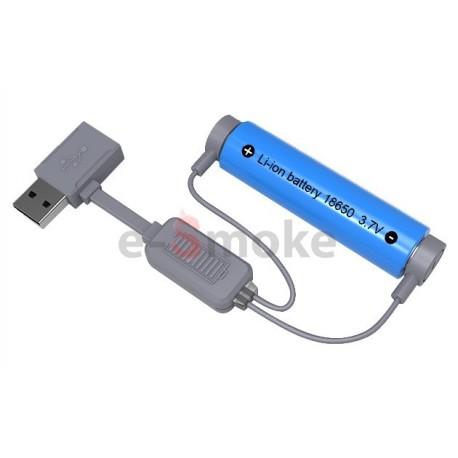 Folomov A1 magnetická USB nabíjačka na batérie