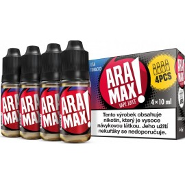 4-Pack USA Tabak Aramax e-liquid