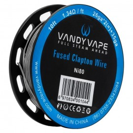 Vandy Vape Fused Clapton Wire Ni80 26ga*2 +35ga (3m)